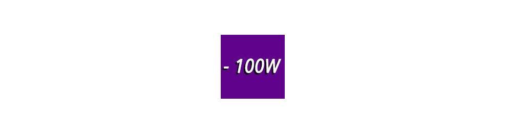0 à 100W