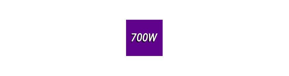 700 - 800 Watts