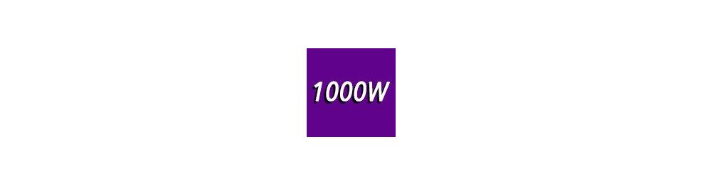 1000 Watts et +