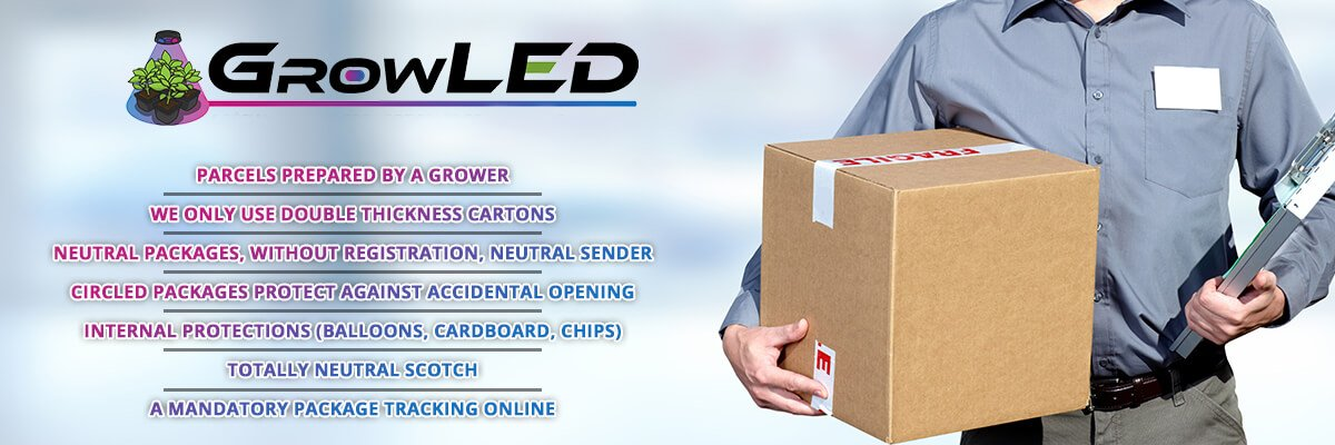 shipping delivery led grow light horticultural ups europe