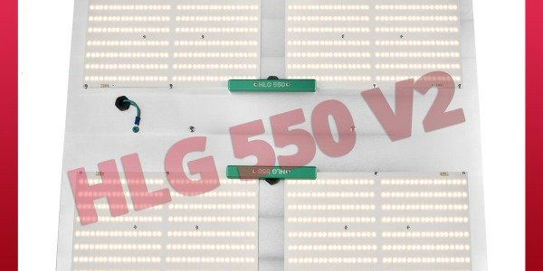 HLG 550 V2 - Lampe LED ultra performante pour plantes en intérieur - Horticulture Lighting Group
